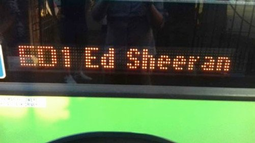 Ed Sheeran Chantry Park analysis