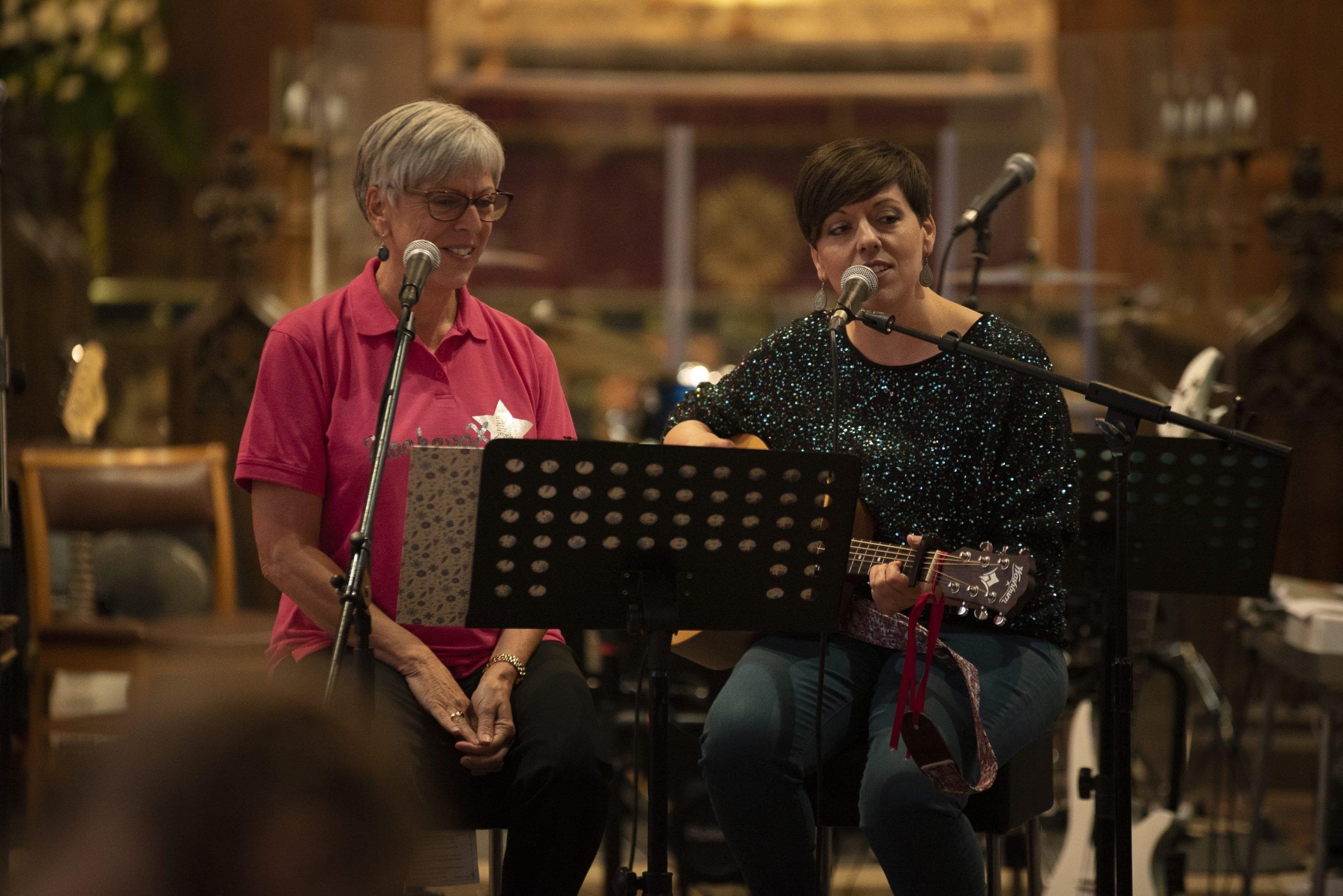Helen & Tig from JDT Music Academy Dereham